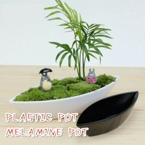 Plastic pot & Melamine pot