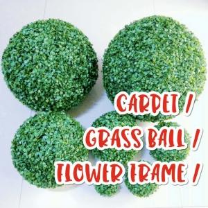Carpet, Grass ball, Flower Frame