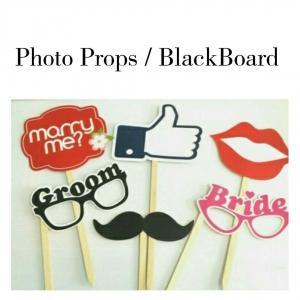 Photo props, Black board