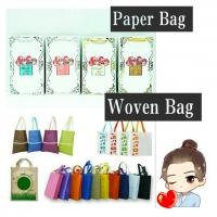 Paper bag, Woven bag