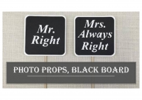 Photo props, Black board